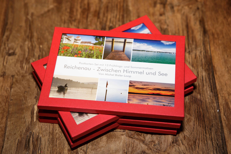 Postkarten-Set von der Reichenau