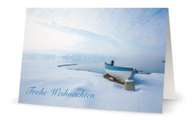 Weihnachtskarte Bodensee